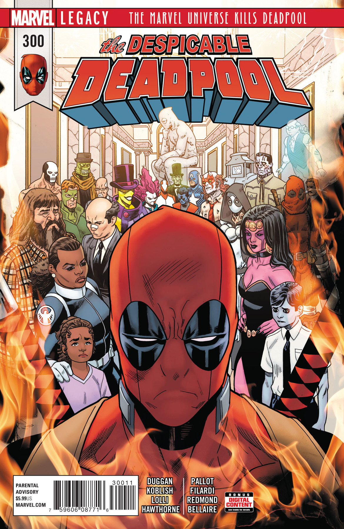 Deadpool 300 cover