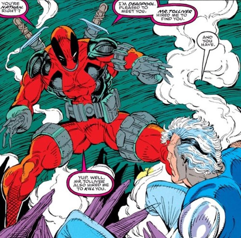 Deadpool in New Mutants #98