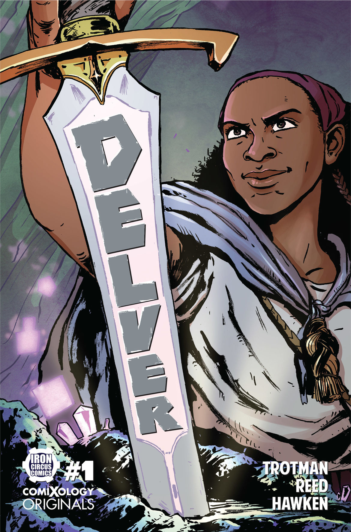 Delver #1 front cover