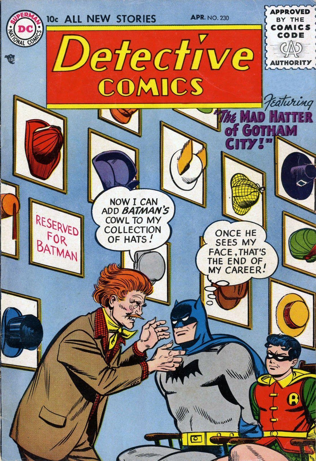 Detective Comics #230 (Writer: Bill Finger, Penciler: Sheldon Moldoff)