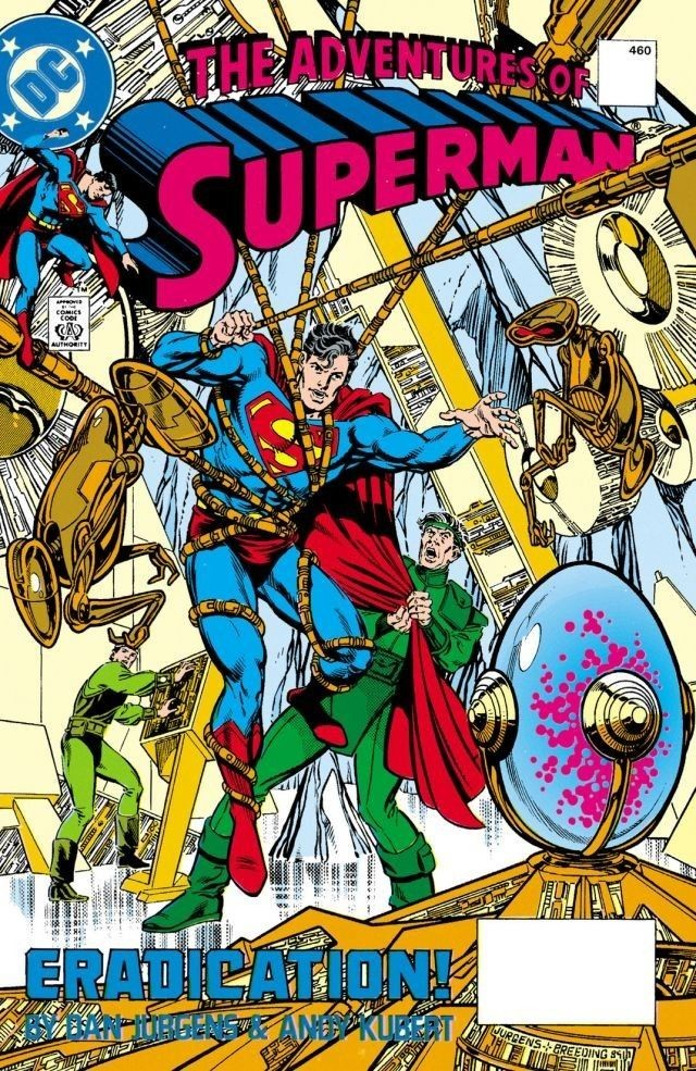 Adventures of Superman 460 Cover