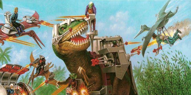 Dino-Riders (1987) Courtesy Photo / Tyco