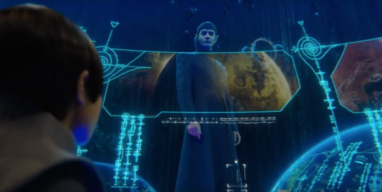 Sarek and Young Burnham on Star Trek: Discovery