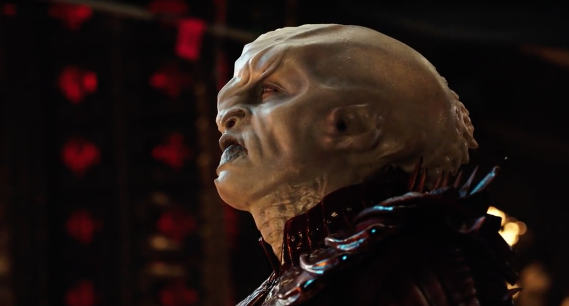 Voq from Star Trek: Discovery