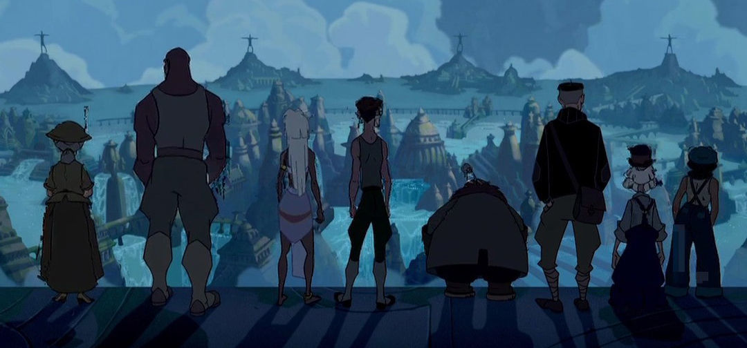 All hail Kida of Atlantis: The Lost Empire, Disney's