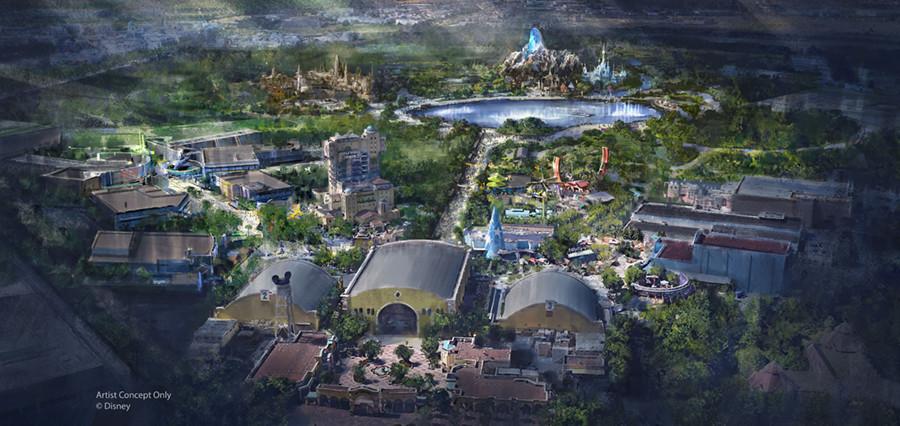 Disneyland Paris concept