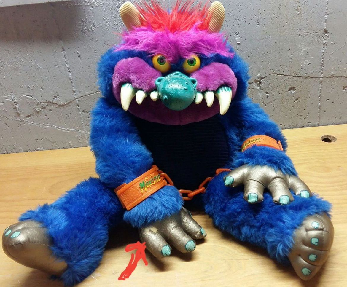Historys Hottest Holiday Toys My Pet Monster A Grotesque Teddy