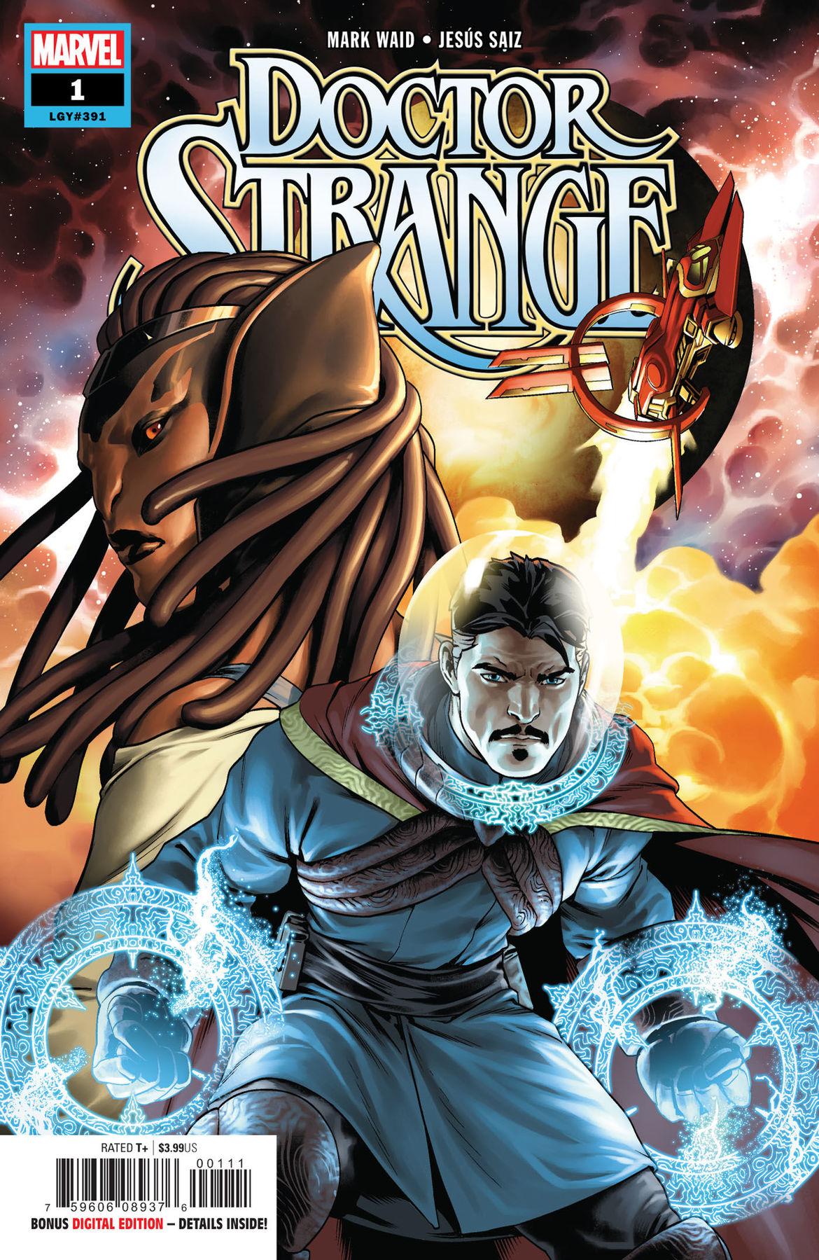 Doctor Strange 1 cover