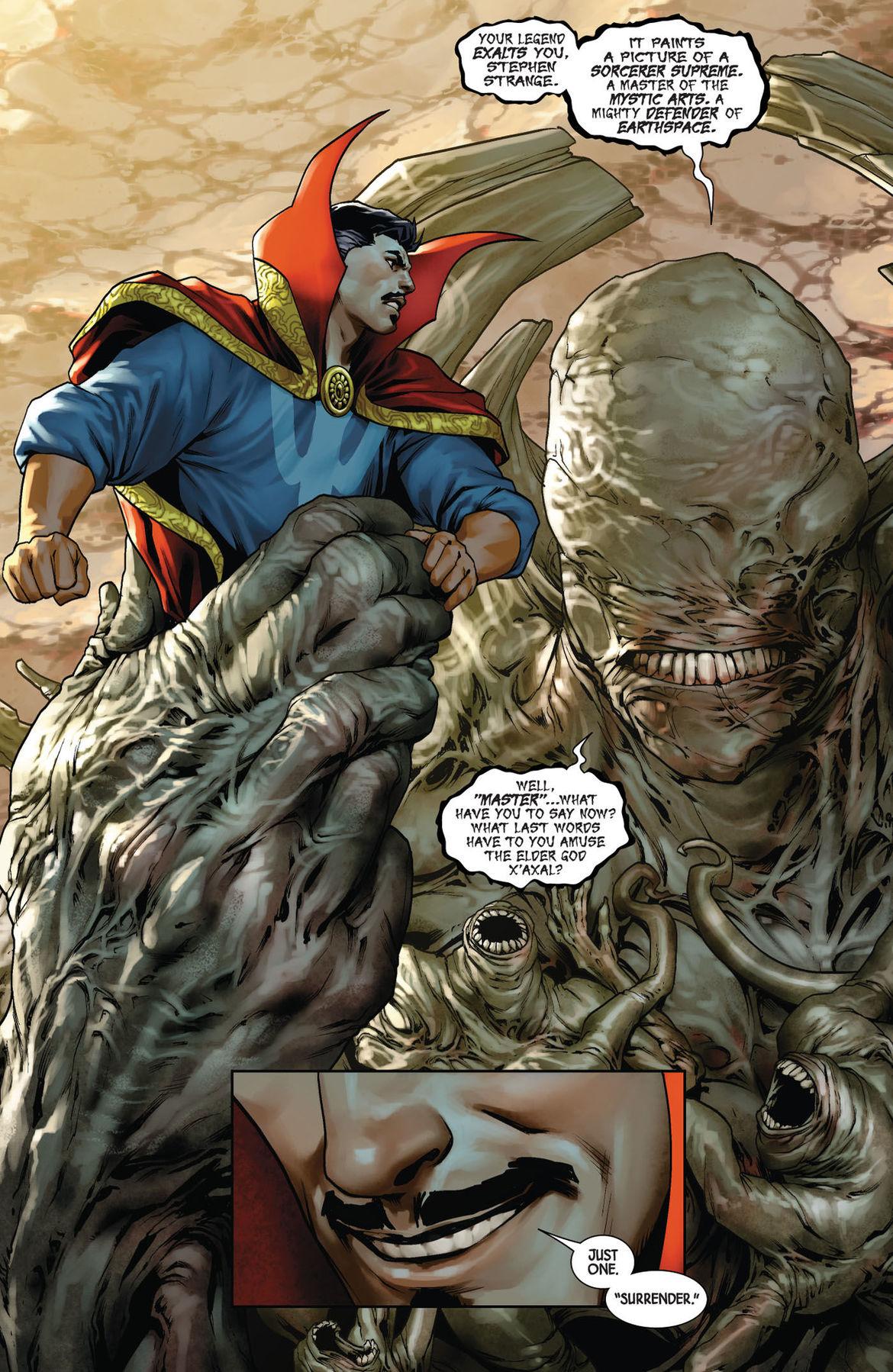 Doctor Strange 1 page 1