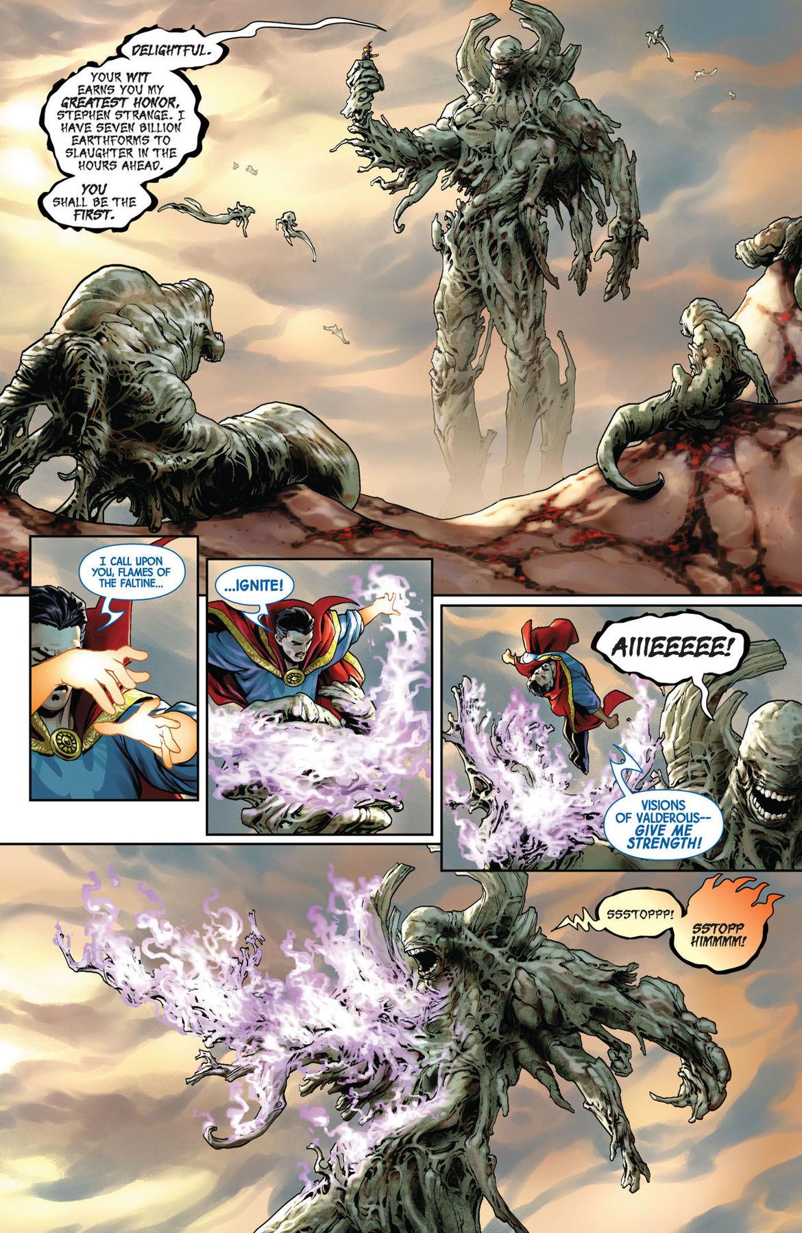 Doctor Strange 1 page 2