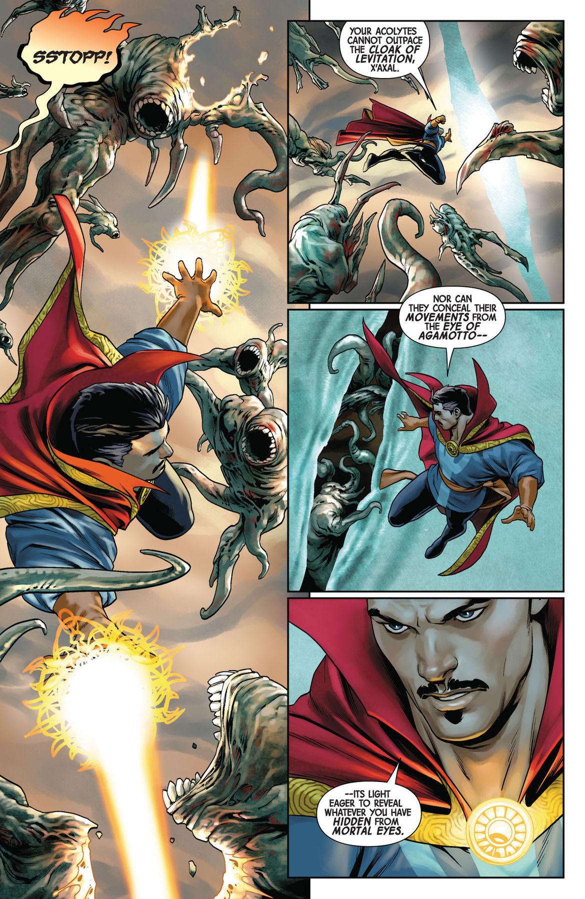 Doctor Strange 1 page 3