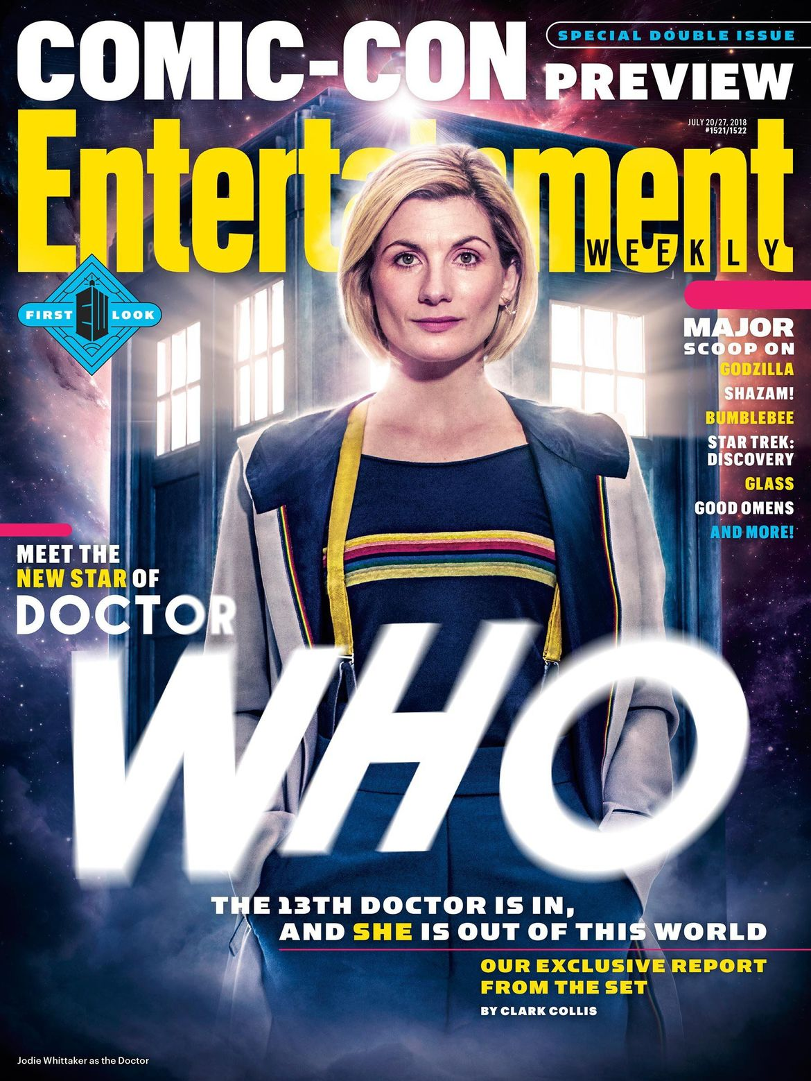 Doctor Who EW cover