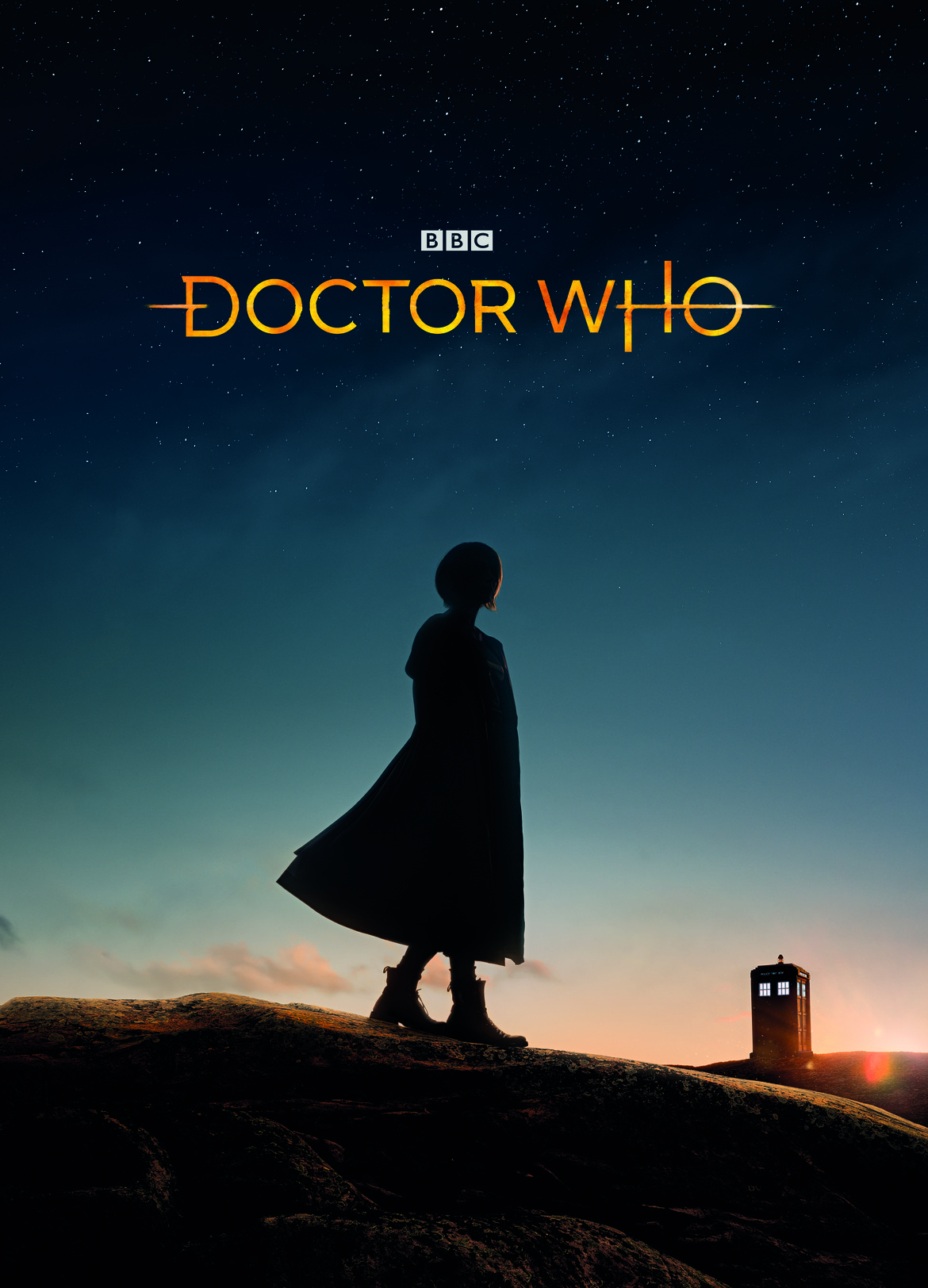 Doctor Who- 13th Doctor played by Jodie Whittaker BBCA poster art