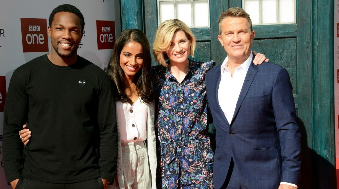 Doctor Who Jodie Whittaker and Cast