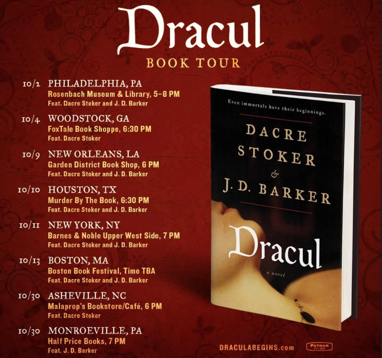 dracul Book Tour