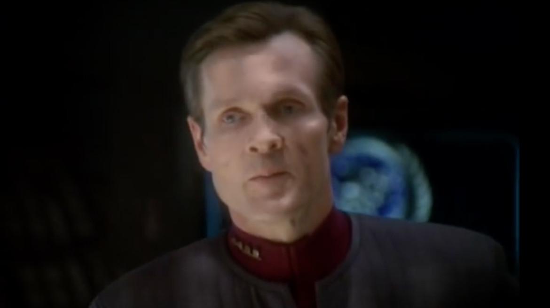 Star Trek: Deep Space Nine- Sloan in disguise (William Sadler)