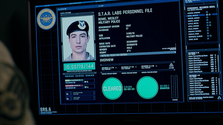 Flash ID Justice League