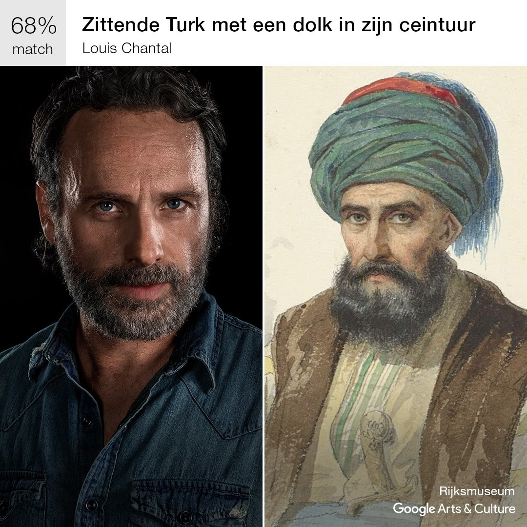Andrew Lincoln The Walking Dead Google Arts