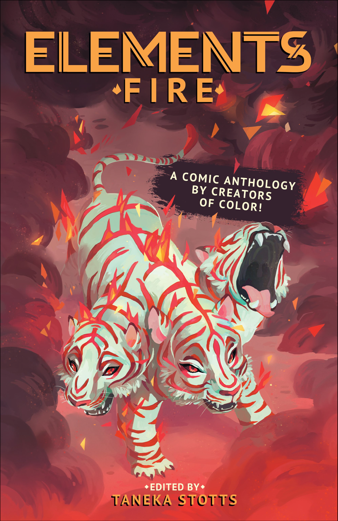 ELEMENTS: Fire cover by Chrystin Garland