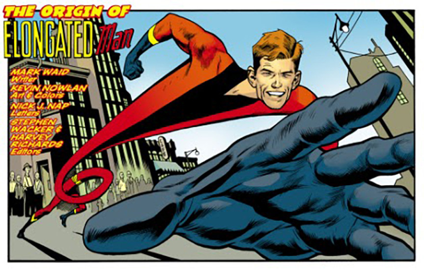 First Look At Elongated Man S Costume On Flash In All Its Pajamas