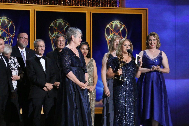 NASA Cassini Emmy ceremony