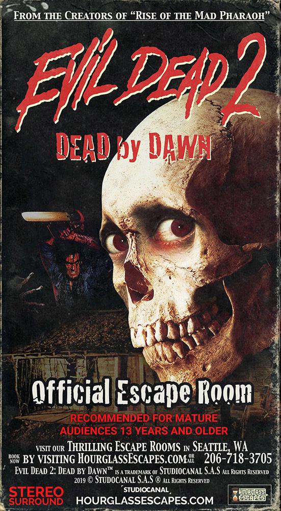 Evil Dead escape room