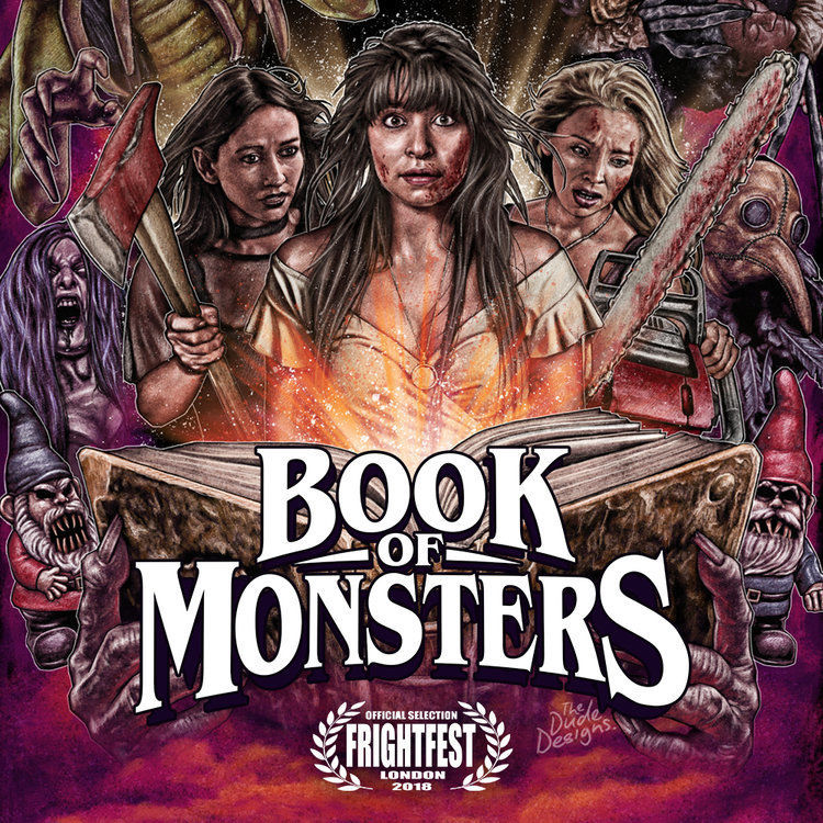 Horror parody Book of Monsters just did a Chestburster scene with