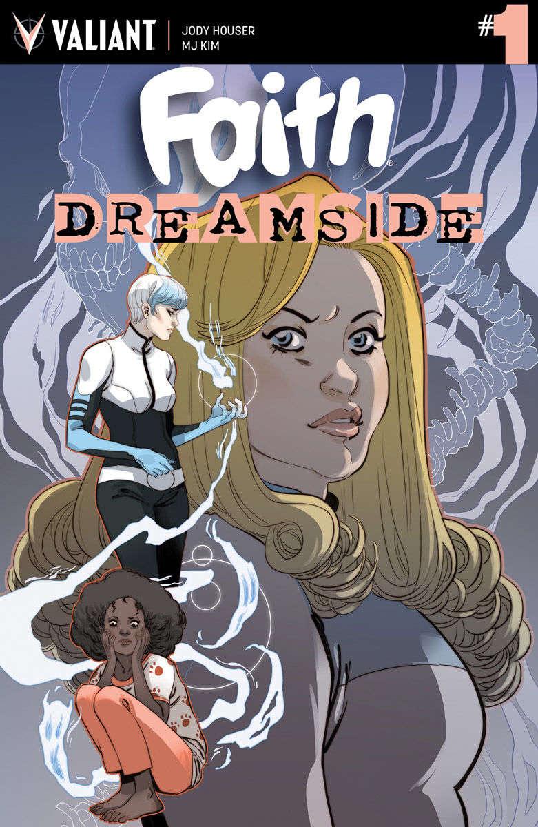 Faith: Dreamside #1 Cover Marguerite Sauvage