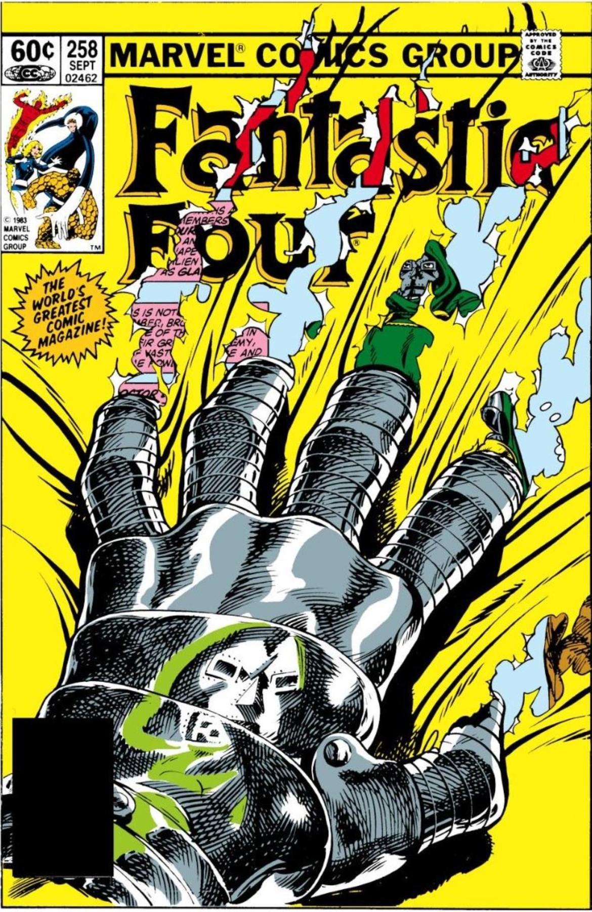 Fantastic Four 258 (Custom).JPG