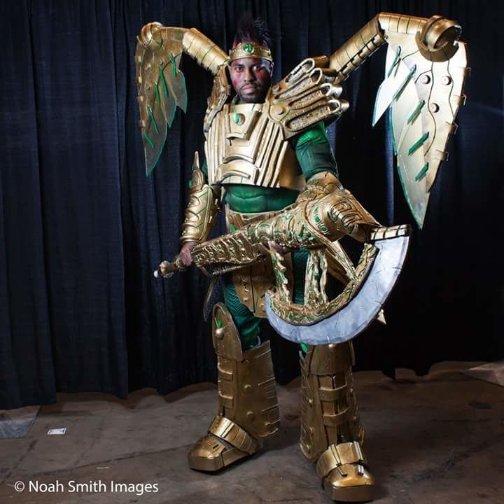 Christopher English cosplay
