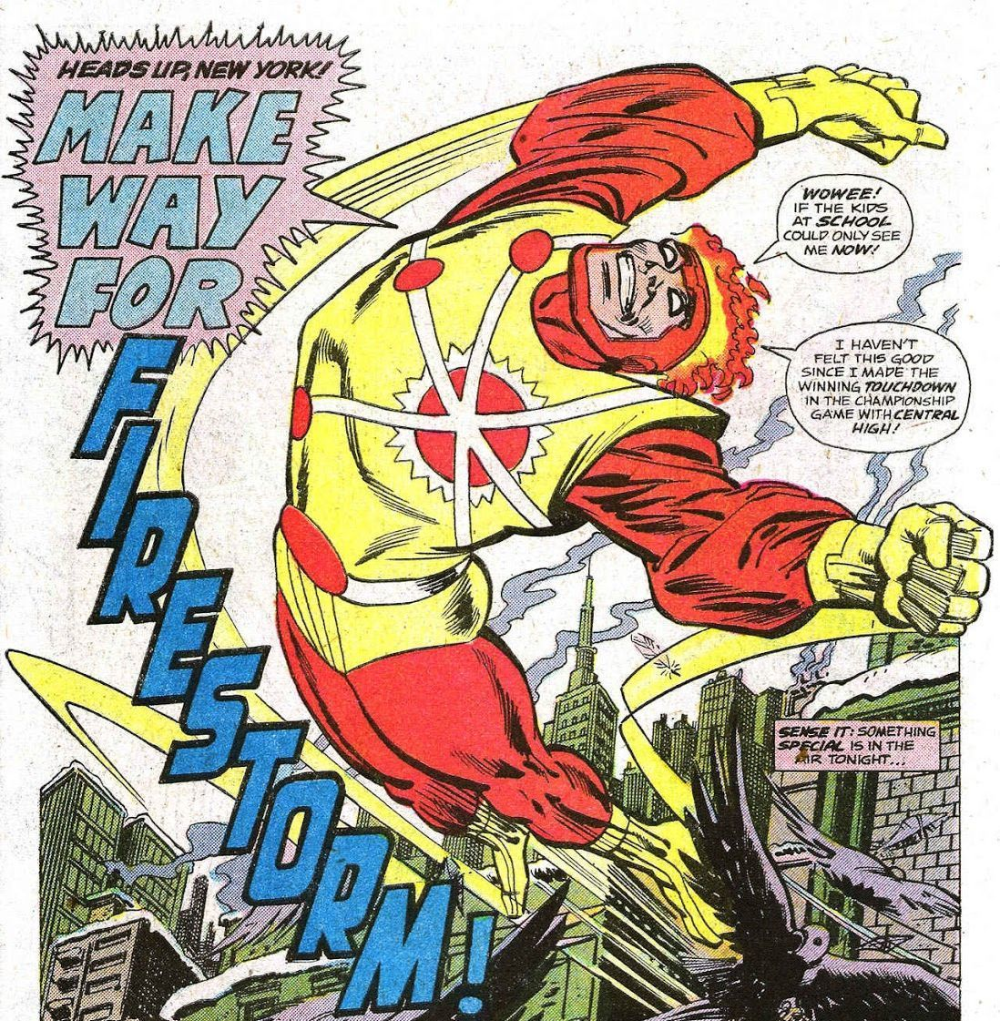Firestorm #1 (Written by Gerry Conway, Art by Al Milgrom)