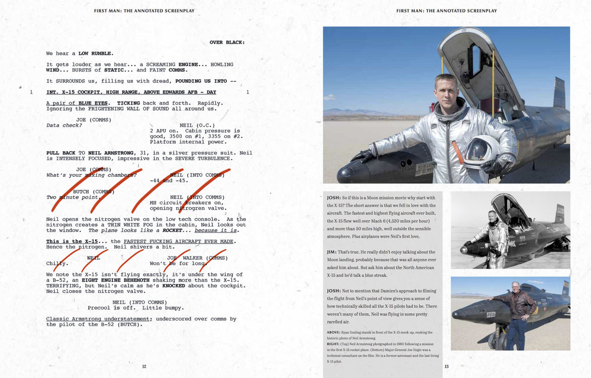 First Man Screenplay