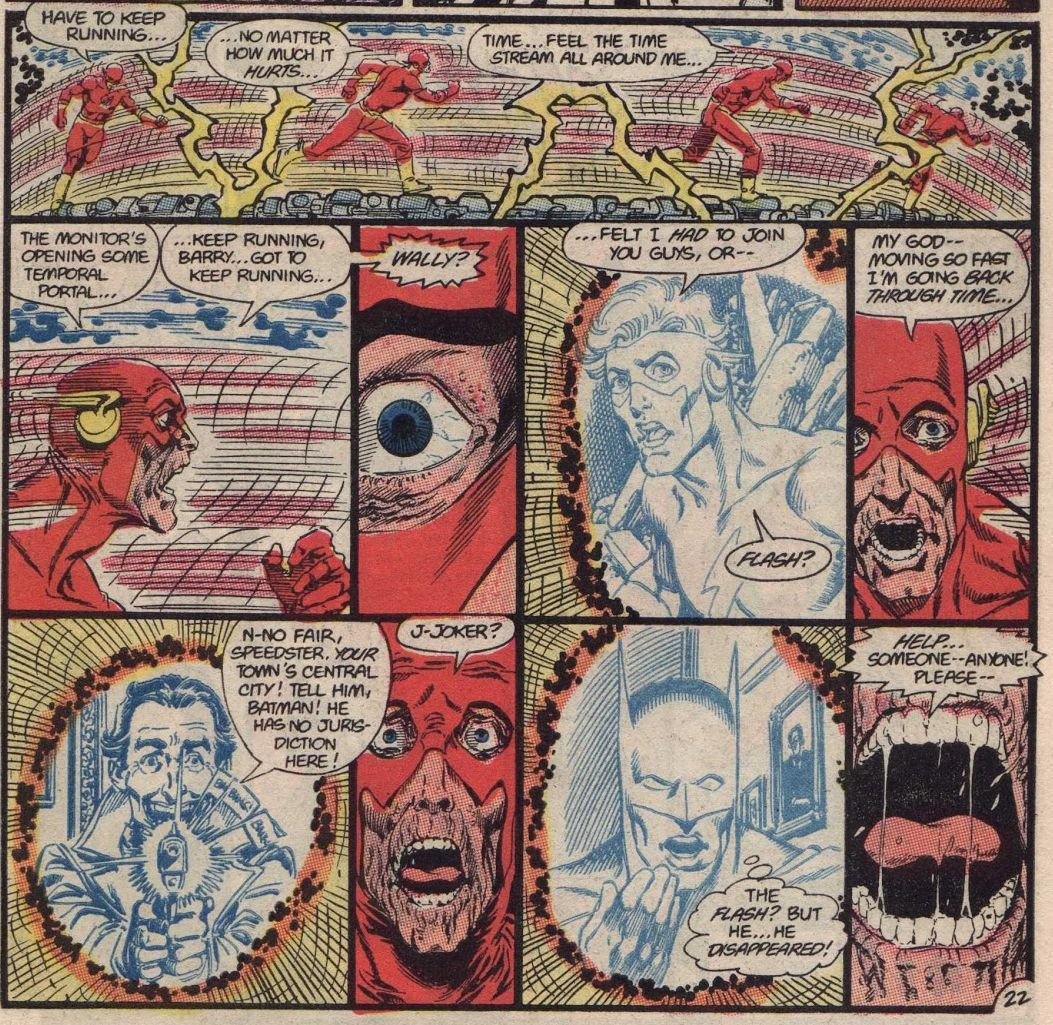 Crisis on Infinite Earths #8 (Written by Marv Wolfman, Art by George Perez)