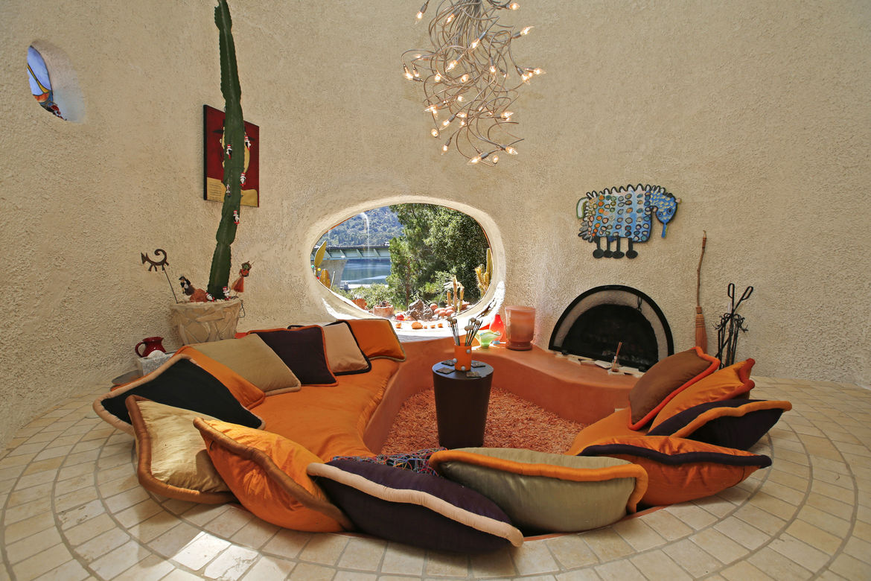 Flintstones House Interior
