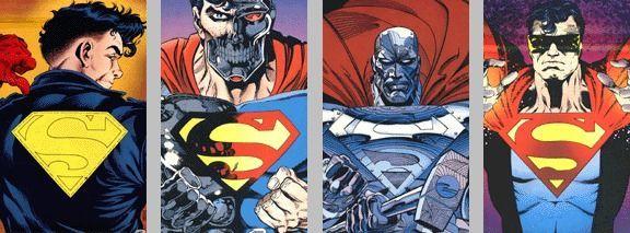 four supermen