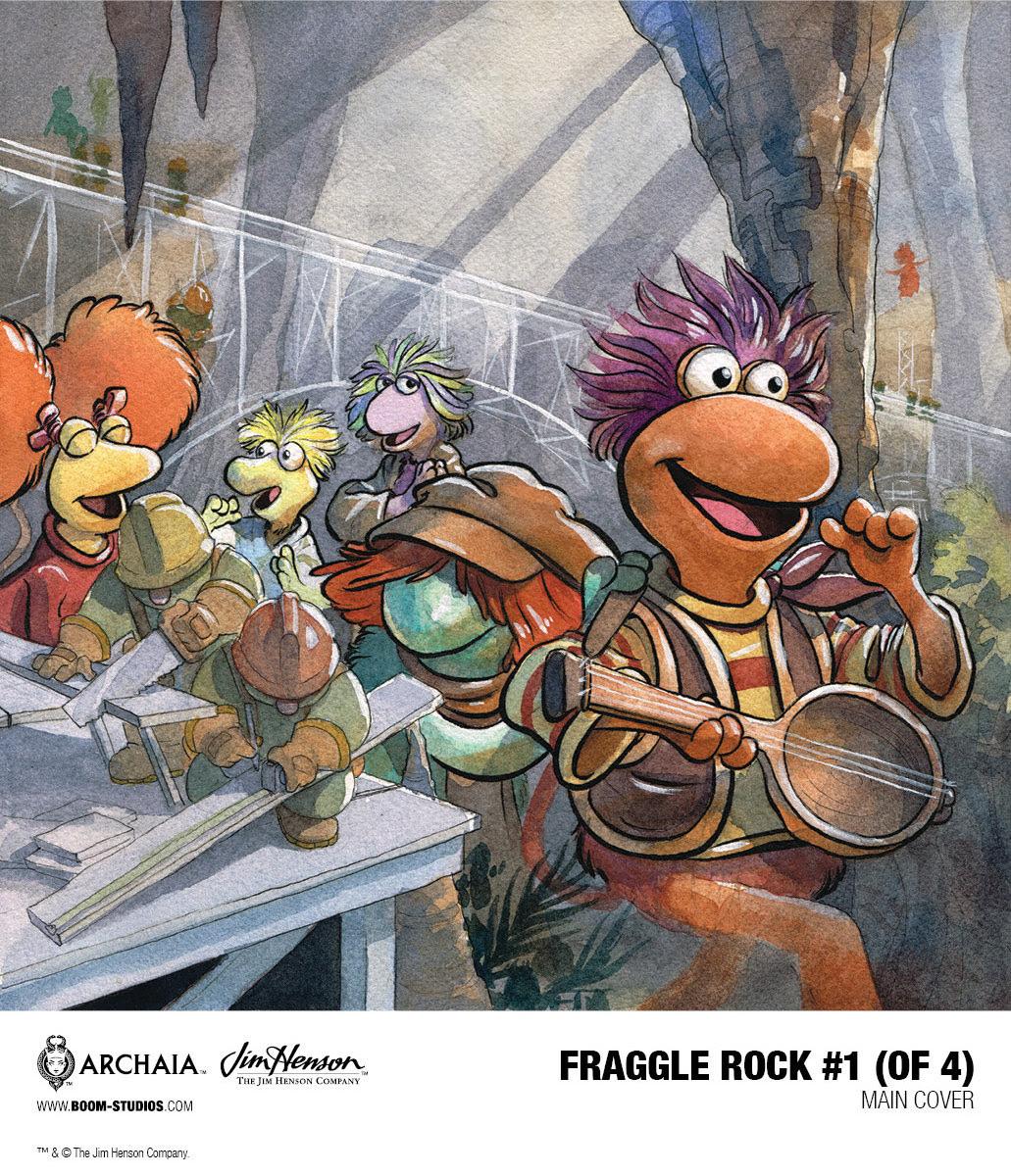 BOOM! Studios Fraggle Rock #1 Main Cover by Jared Cullum