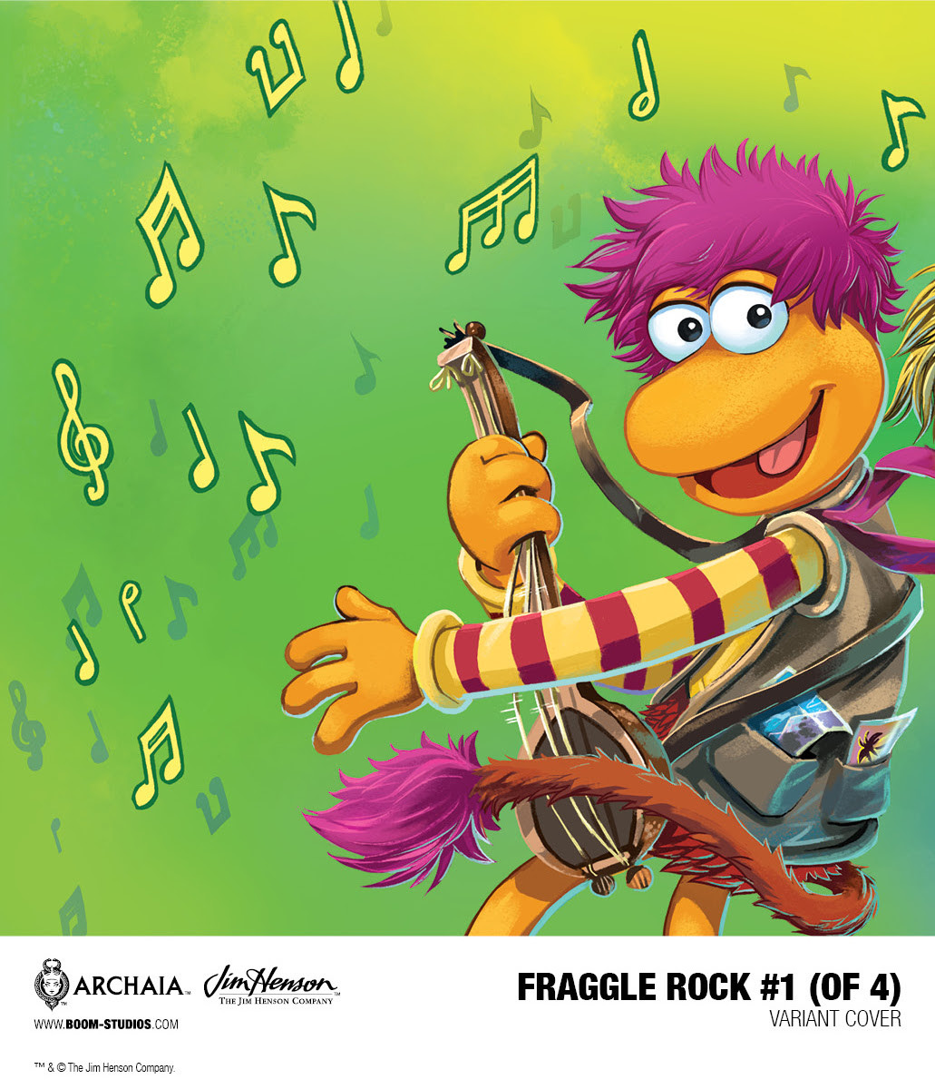 Fraggle Rock #1 Connecting Variant Cover by Jake Myler