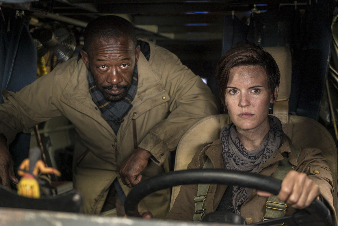 Fear the Walking Dead episode 401 - Morgan and Althea