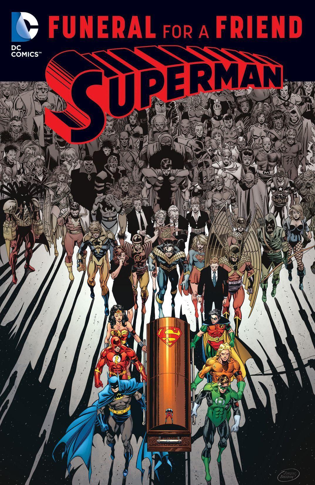 Funeral Friend Superman
