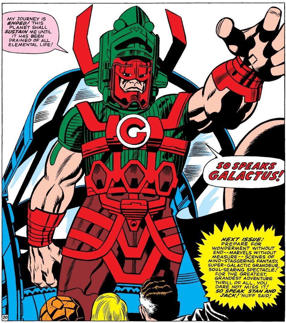 First appearance of Galactus from The Fantastic Four #48