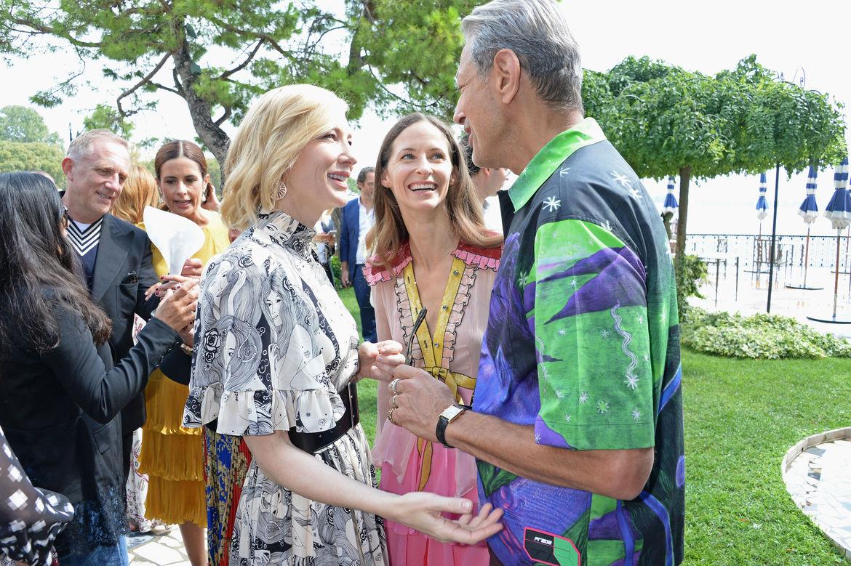 Jeff Goldblum and Cate Blanchett
