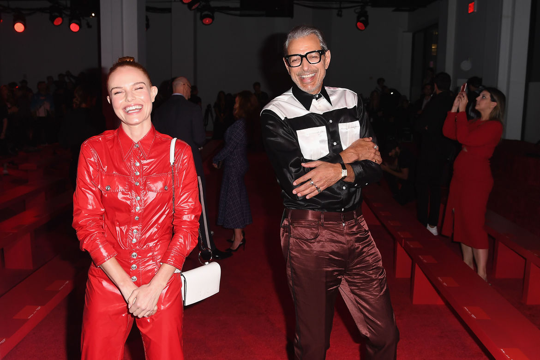 Jeff Goldblum and Kate Bosworth