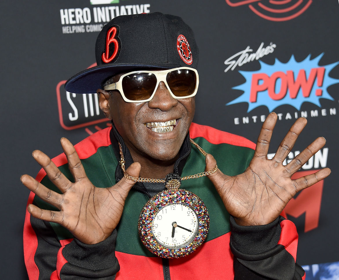 Flava Flav at the stan lee tribute