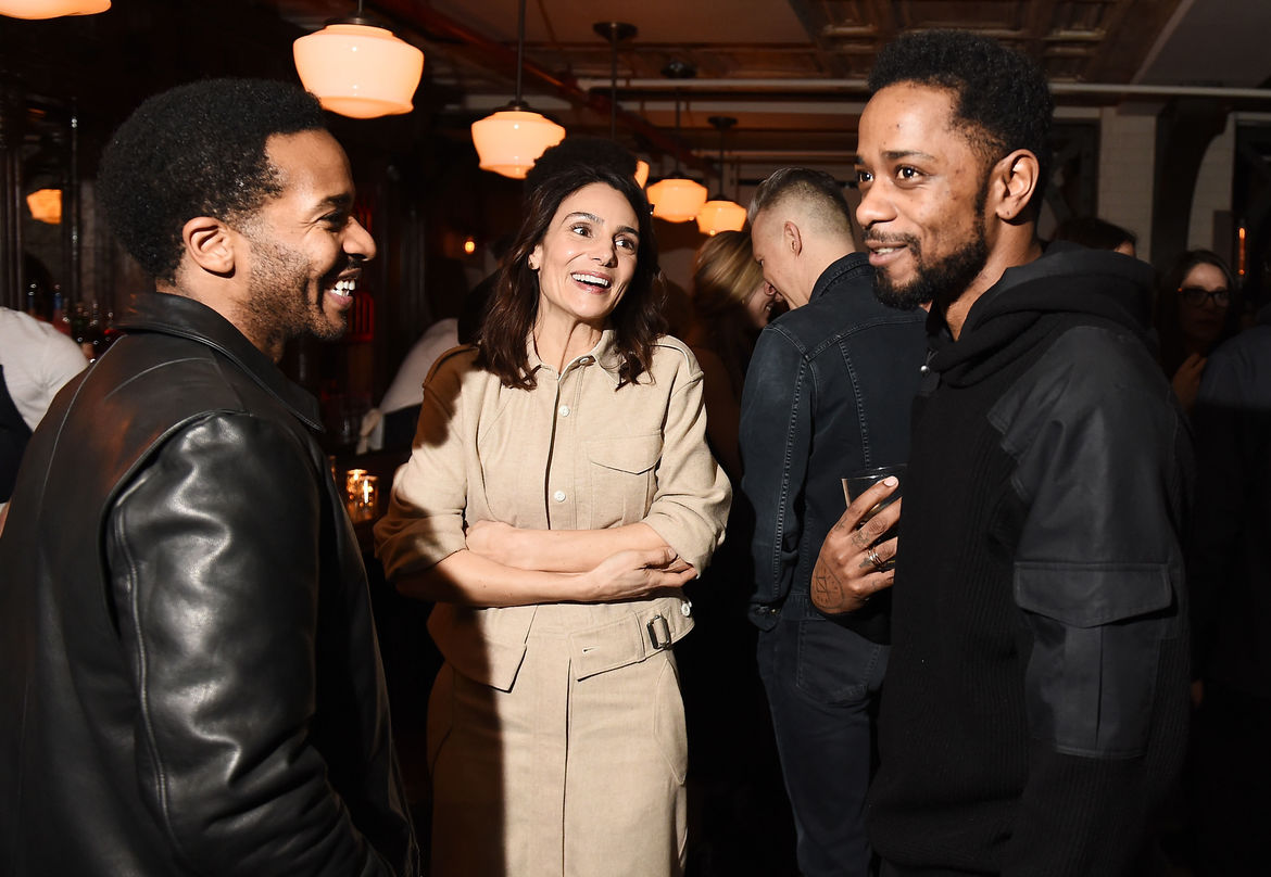 Andre Holland and Lakeith Stanfield