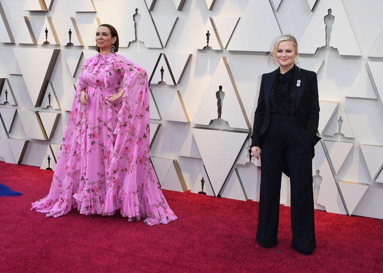 Maya Rudolph and Amy Poehler