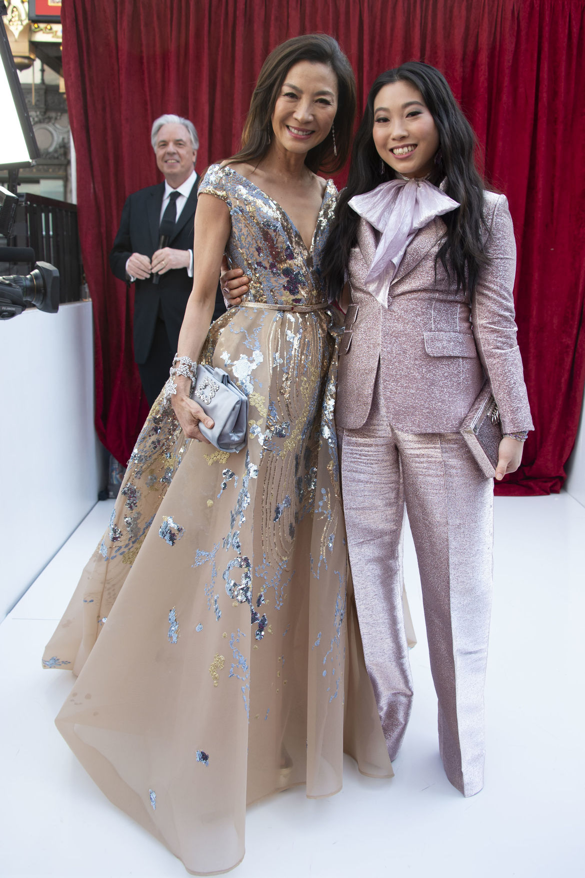Michelle Yeoh and Awkwafina