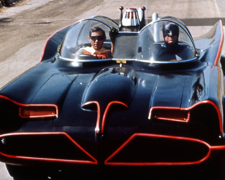 Batmobile from the 1966 Batman TV series