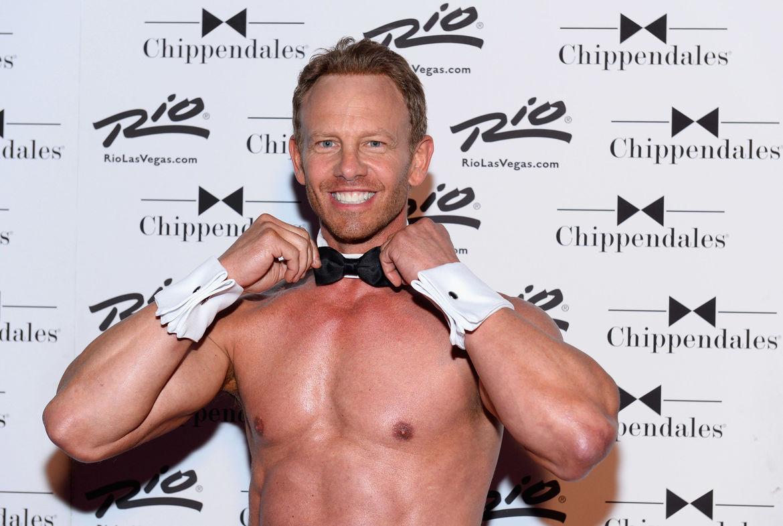 Ian Ziering Chippendales