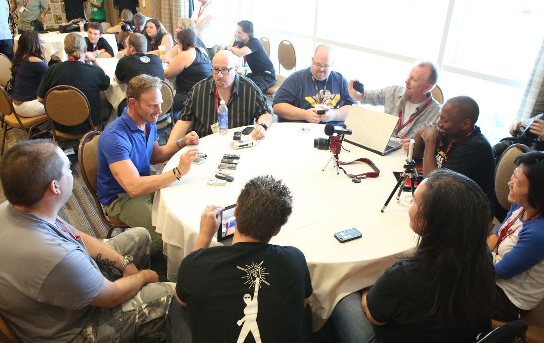 Ian Ziering Sharknado Comic-Con