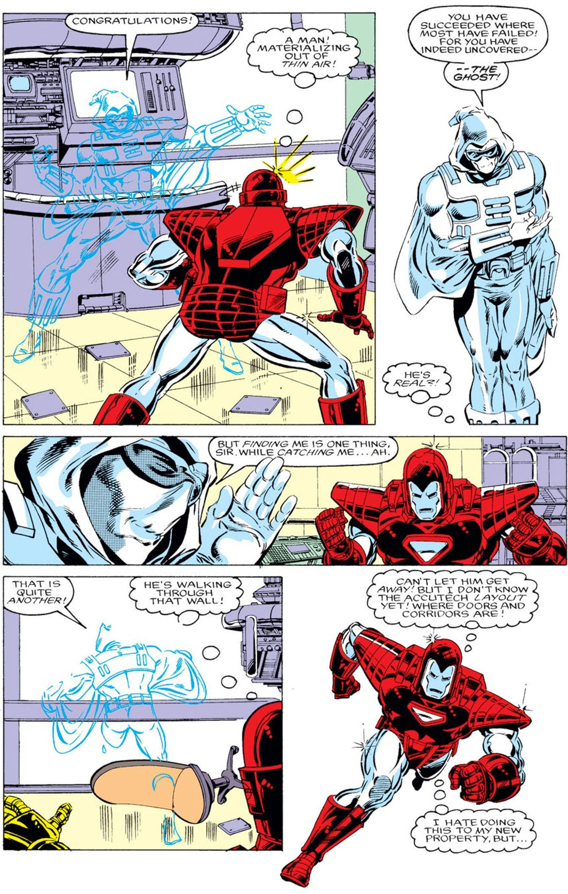 Ghost vs Iron Man